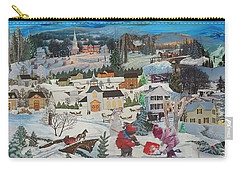 Winter Play Carry-all Pouch