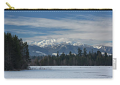 Carry-all Pouch featuring the photograph Winter by Randy Hall