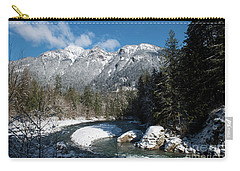 Winter River Carry-all Pouch