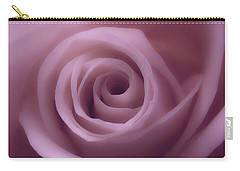 Winter Rose 7 Carry-all Pouch