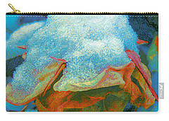 Carry-all Pouch featuring the photograph Winter Rose II by Anastasia Savage Ealy