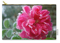 Winter Rose Carry-all Pouch