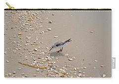 Winter Sanderling Carry-all Pouch