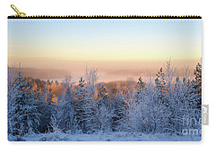Winter Scenery Of The Lake Hiidenvesi Carry-all Pouch