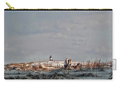 Carry-all Pouch featuring the photograph Winter Scented Sand by Richard Bean