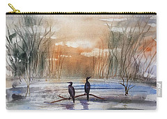 Winter Sereniny Carry-all Pouch