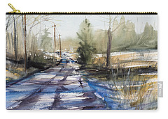 Winter Shadows  Carry-all Pouch by Judith Levins