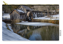 Winter Snow At Mabry Mill Carry-all Pouch