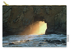 Winter Solstice Sunset In Big Sur Carry-all Pouch