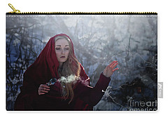 Winter Spell Carry-all Pouch by Agnieszka Mlicka
