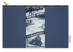 Winter Sports In The Alleghenies Carry-all Pouch