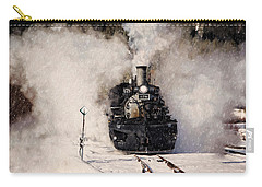 Winter Steam At Rockwood Colorado Carry-all Pouch