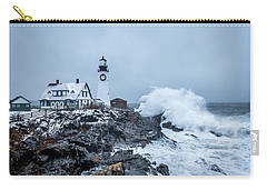 Winter Storm, Portland Headlight Carry-all Pouch