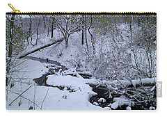 Winter Stream Bed Carry-all Pouch