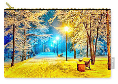 Winter Street Carry-all Pouch by Catherine Lott