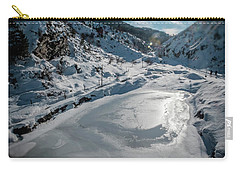 Carry-all Pouch featuring the photograph Winter Sun by Okan YILMAZ