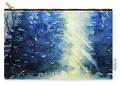 Winter Sunrise Carry-all Pouch by Rebecca Davis