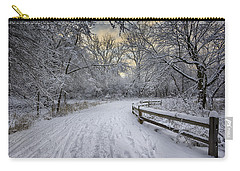 Carry-all Pouch featuring the photograph Winter Sunrise by Sebastian Musial