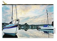 Winter Sunset At Mylor Bridge Carry-all Pouch