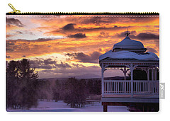Winter Sunset  Carry-all Pouch by Betty Pauwels