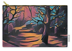 Winter Sunset Digital  Carry-all Pouch