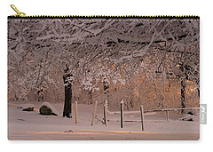 Winter Sunset Ft Hill Park Carry-all Pouch