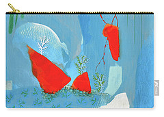 Winter Thunder Carry-all Pouch by Donna Blackhall