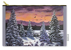 Winter Time Again Carry-all Pouch