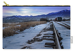 Winter Tracks Carry-all Pouch