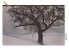 Winter Tree Carry-all Pouch by Laurie Rohner