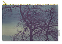 Carry-all Pouch featuring the photograph Winter Tree by Shane Holsclaw
