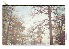 Carry-all Pouch featuring the photograph Winter Trees by Lyn Randle