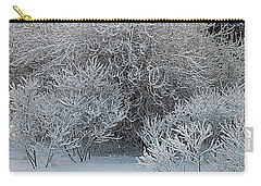 Winter Trees Carry-all Pouch by Vladimir Kholostykh