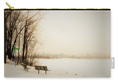 Winter View Over Montreal Carry-all Pouch