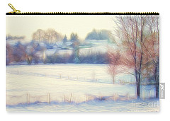 Winter Village Carry-all Pouch by Jutta Maria Pusl