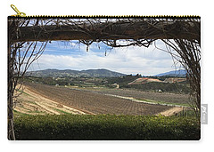 Winter Vines Carry-all Pouch