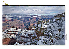 Winter Vista - Grand Canyon Carry-all Pouch