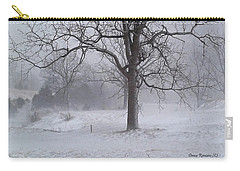 Winter Walnut Carry-all Pouch by Denise Romano