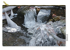 Winter Water Flow 4 Carry-all Pouch