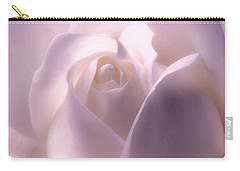 Winter White Rose 2 Carry-all Pouch