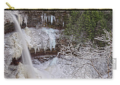 Winter Wonderland At Kaaterskill Falls Carry-all Pouch
