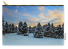 Carry-all Pouch featuring the photograph Winter Wonderland  by Emmanuel Panagiotakis