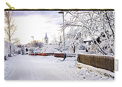 Winter Wonderland Carry-all Pouch by Marius Sipa