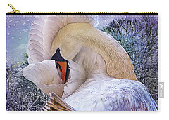 Winter Wonderland Carry-all Pouch by Mary Lou Chmura