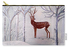 Winter Wonderland - Painting Carry-all Pouch