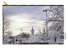 Winter Wonderland Redux Carry-all Pouch by Marius Sipa