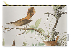 Winter Wren Or Rock Wren Carry-all Pouch