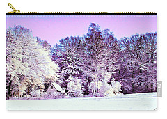 Carry-all Pouch featuring the digital art Winter by Zedi