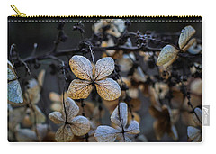 Winterized Hydrangea Carry-all Pouch