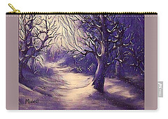 Winter's Beauty Carry-all Pouch